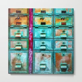 Mailbox (Hyper Color Remix) Metal Print