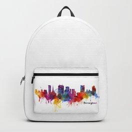 Birmingham Watercolor Skyline Backpack