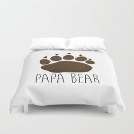 Papa Bear Duvet Cover