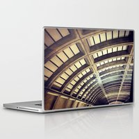 washington dc Laptop & iPad Skins featuring Petworth Metro (Washington, DC) by Carsick T-Rex