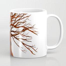 Tree illustration  Coffee Mug