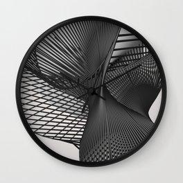 abstract art  Wall Clock