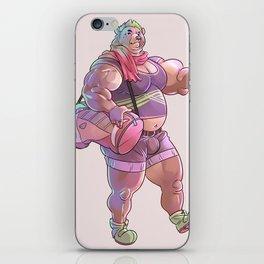 Bara Bear Purple iPhone Skin
