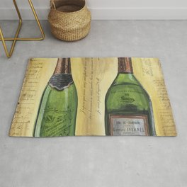 Bubbly Champagne 1 Rug