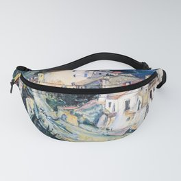 12,000pixel-500dpi - Chaim Soutine - View of Cagnes - Digital Remastered Edition Fanny Pack