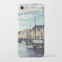 copenhagen iPhone & iPod Cases featuring Nyhavn Copenhagen by Ubersuper (Stefan Sicher)