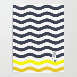 011 OWLY thick dunes Poster