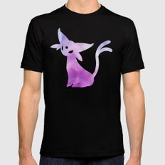 Espeon Black MEDIUM Mens Fitted Tee