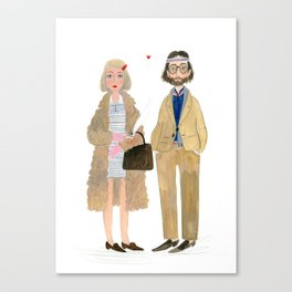 I think we're just gonna to have to be secretly in love Canvas Print