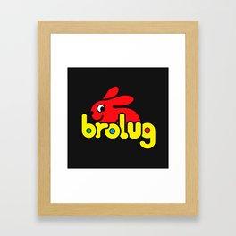 Brolug Framed Art Print