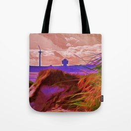 Sand Dunes (Digital Art) Tote Bag