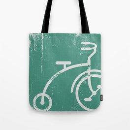 Grunge bicycle Tote Bag