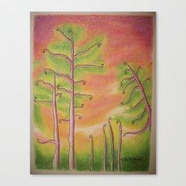 Fiddleheads Canvas Print