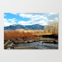 montana Canvas Prints featuring Montana by Emily DiLaura