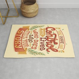 Who tells your story Rug