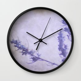 """""""Violet dream at sunset"""" Wall Clock"""