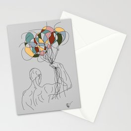 Invincible Power of Imagination Stationery Cards