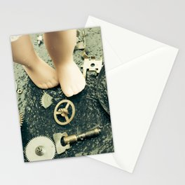 Alice's Escapades ~ Alice Lost In Time Stationery Cards