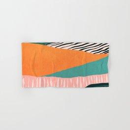 Modern irregular Stripes 02 Hand & Bath Towel