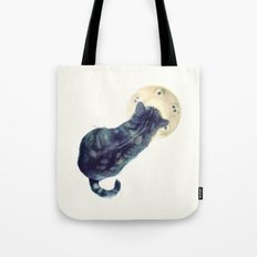 Kitten and Saucer Tote Bag
