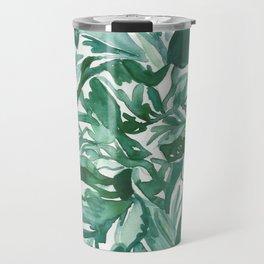 calathea leaves Travel Mug