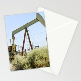 Oil Rig I Stationery Cards