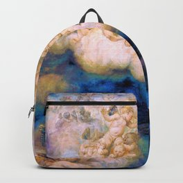 Cloud Of Angels - Hans Thoma Backpack