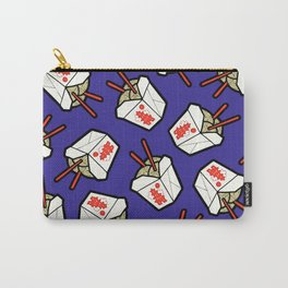 Take-Out Noodles Box Pattern Carry-All Pouch