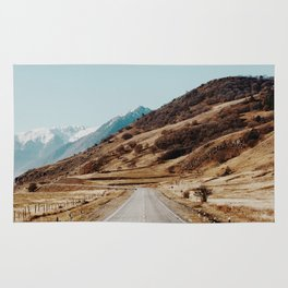 mountain road Rug