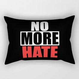 Against Hatred Rectangular Pillow