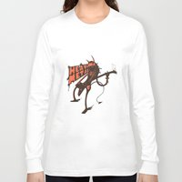 heavy metal Long Sleeve T-shirts featuring heavy metal by illusign