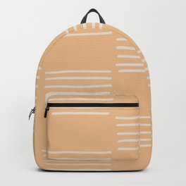hatches – peach Backpack