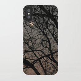ghost moon iPhone Case
