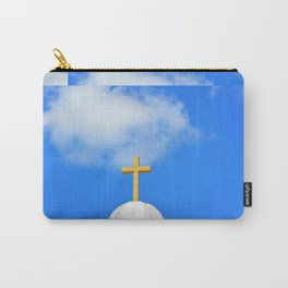 Sunday Morning - Cross Photography by Sharon Cummings Carry-All Pouch