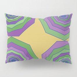Unbalanced octagon yellow Pillow Sham