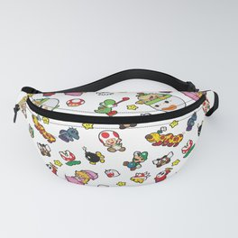 It's a really SUPER Mario pattern! Fanny Pack