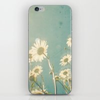 forever young iPhone & iPod Skins featuring Forever Young by Cassia Beck