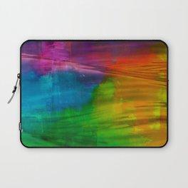 Abstract Rainbow Laptop Sleeve