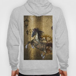 Awesome steampunk horse Hoody