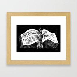 Research Framed Art Print
