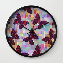 Butterflies 02 Wall Clock