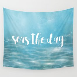 Seas The Day Wall Tapestry