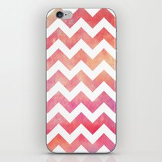 Watercolor Chevron. iPhone & iPod Skin