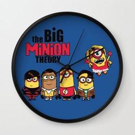 The Big Minion Theory Wall Clock