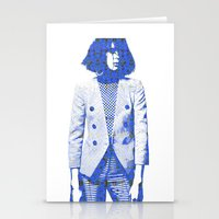 suit Stationery Cards featuring Suit by fashionistheonlycure