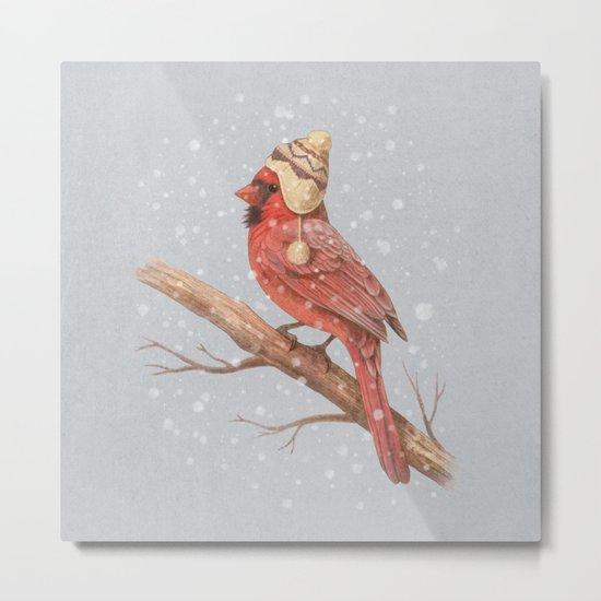 First Snow - colour option Metal Print