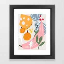 1975 kitchen Framed Art Print