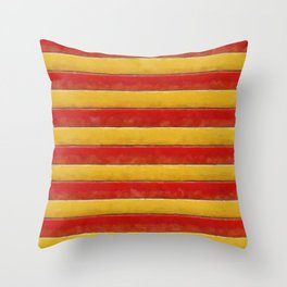 Stripey Throw Pillow