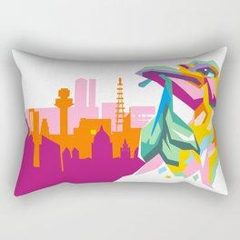 LIVERBIRD WPAP Rectangular Pillow