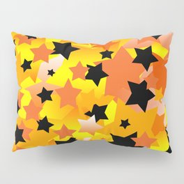 Halloween Stars Pillow Sham
